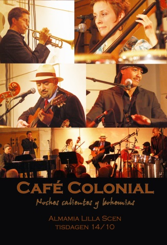 Cafe Coloniial 14 oktober