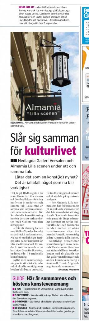 Sundsvalls Nyheter 2012.06.01 sidan 19